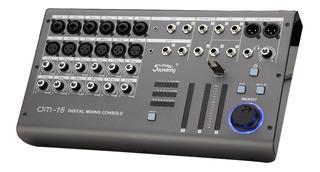 Consola Mixer Digital Soundking Dm-16 16 Canales Usb P/ iPad