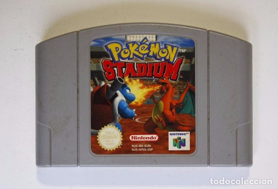 Cartucho Nintendo 64 Pokemon Stadium Europeu