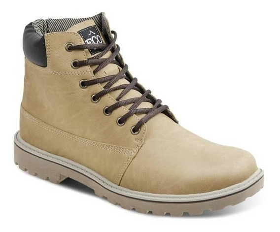 Bota Casual Masculina Eco Canyon New Worker Yellow Boot