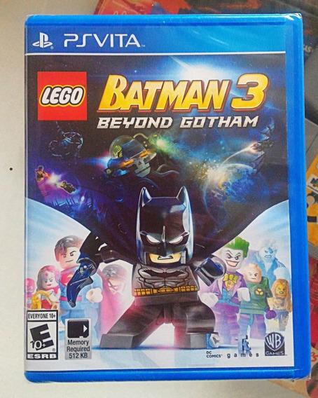 Lego Batman 3 - Beyond Gotham - Ps Vita - Mídia Física