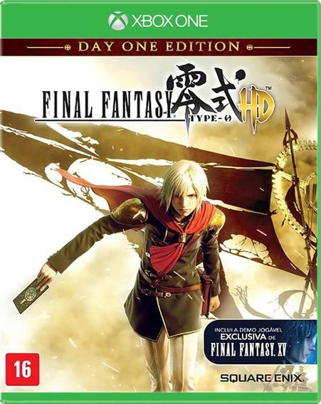 Final Fantasy Type-0 Hd Lacrado! Loja Física! Sem Juros