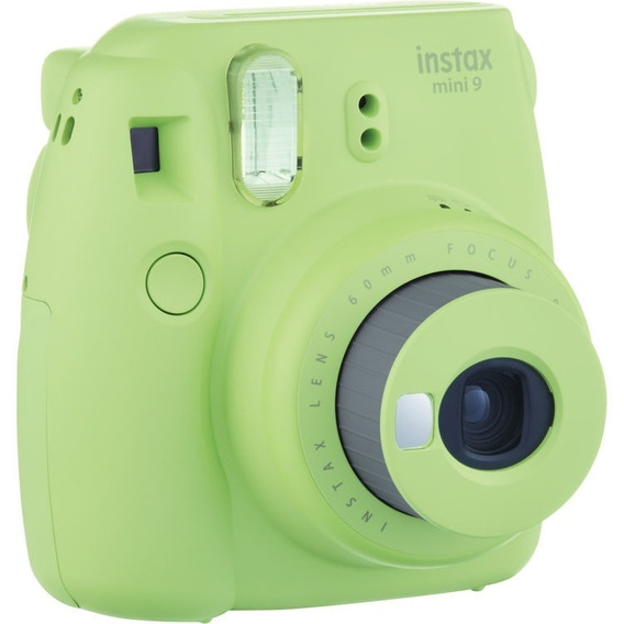 Câmera Instantânea Fujifilm Instax Mini 9 Verde 12x Sem Juro