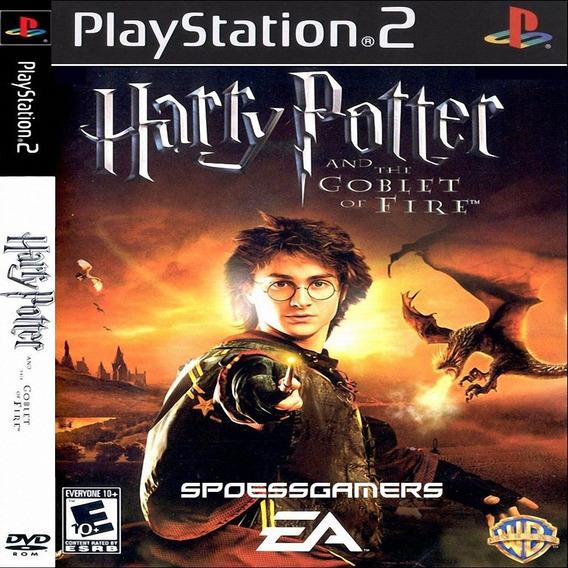 Harry Potter E O Cálice De Fogo Ps2 Desbloqueado Patch