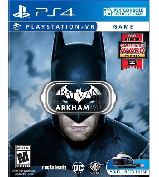 Jogo Playstation 4 Batman Arkham Vr