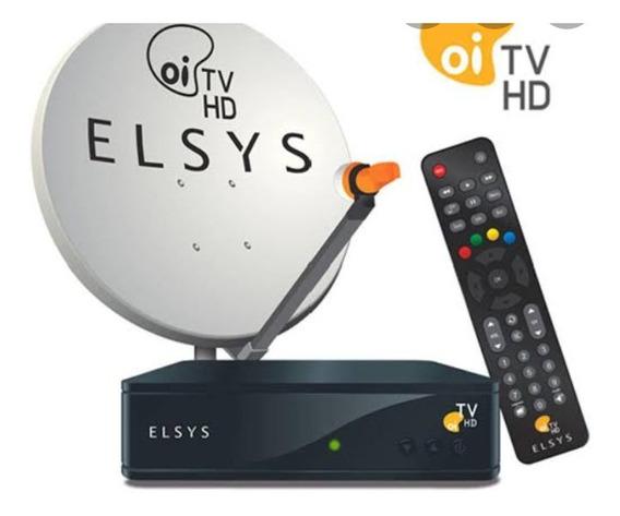 Vendo Antena E Receptor Oi Tv Hd Livre
