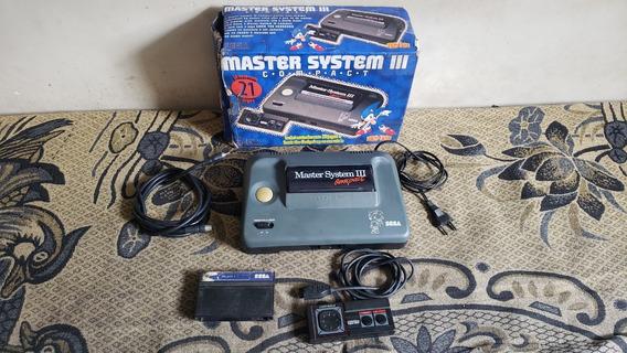 Master System 3 Com 21 Jogos Na Caixa O Console Tudo Ok E3