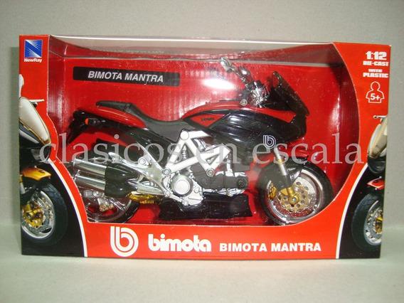 Bimota Mantra - Rojo - Moto New Ray 1/12