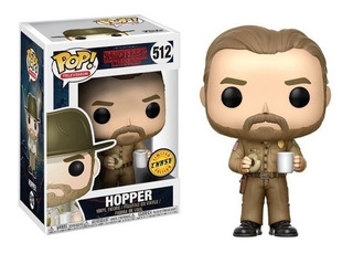 Funko Pop Hopper 512 Chase - Stranger Things