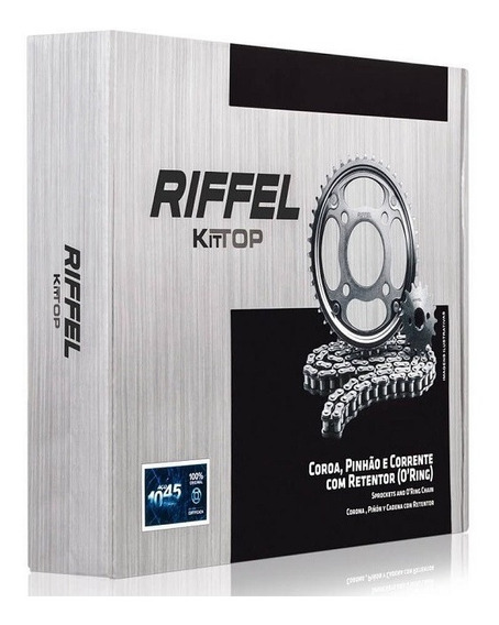 Relacao Completa (com Retentor) Riffel Fan 125 2009/2013 (42