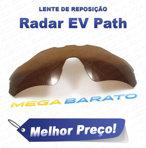 Lente Óculos Radar Ev Path Marrom Bronze Brown Polarizada