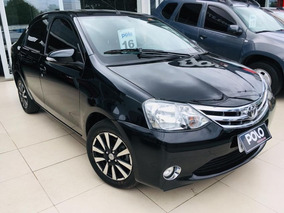 Toyota Etios 1.5 Platinum Sedan 16v 2016 Preto Flex