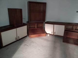 Gabinetes De Cocina Madera/ Vidrio