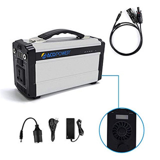 Acopower Portable Solar Generator For Camping 60,000mah Lith