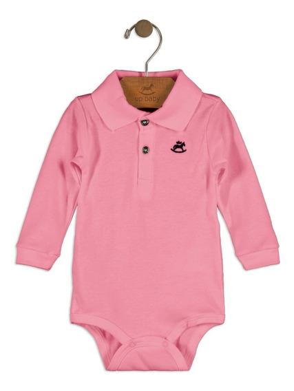 Body Polo Suedine Bebê Up Baby