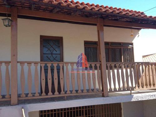 Casa Com 3 Dormitórios À Venda, 101 M² Por R$ 460.000,00 - Campo Limpo - Americana/sp - Ca0470