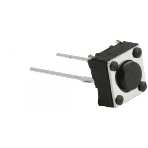 Pack X 10 Boton Pulsador Tact Switch De 2 Pines 6x6x5mm