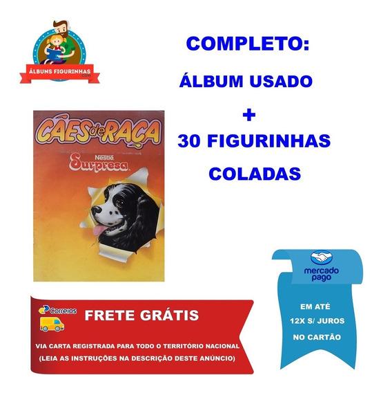 Álbum Figurinhas Surpresa Cães De Raça 1992 Completo