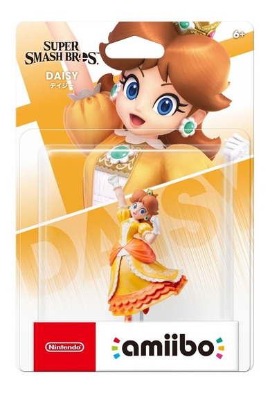 Amiibo Daisy Super Smash Bros Ultimate Nintendo Switch 3ds