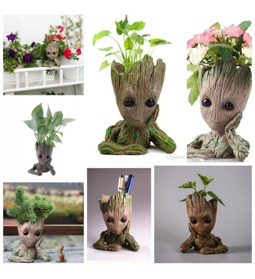 Porta Objetos Vaso Plantas Baby Groot Guardiões Da Galáxia