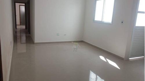Imagem 1 de 12 de Apartamento Com 2 Dormitórios À Venda, 55 M² Por R$ 410.000,00 - Vila Valparaíso - Santo André/sp - Ap1688
