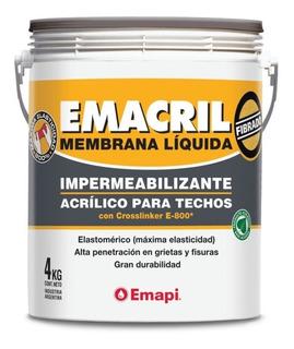 Membrana Líquida Impermeabilizante Emacril Verde 4 Kg