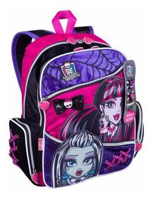 Mochila Infantil Costas Escolar Menina Monster High 63593