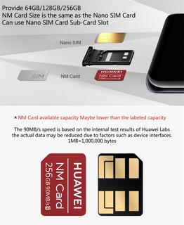 Nano Memory Card 256gb Para Huawei Mate 20 Y 30 - Lite Y Pro