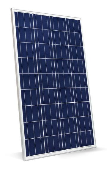 Kit Painel Placa Solar 100w + Inversor + Controlador + Cabos