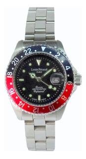 Reloj Feraud Submariner Dama Sumergible Japón Garantía Ofic