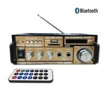 Amplificador De Potência De Som Hi-fi Bluetooth Receptor Fm