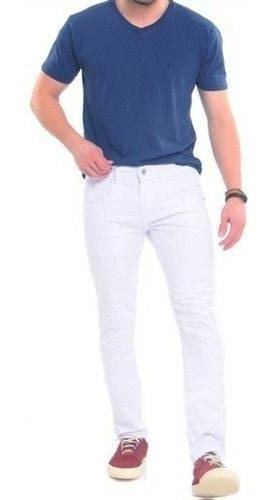 Calca Branca Masculina Calça Masculina Skinny Calça Branca Tng Original Com Garantia Na Promoção - 12x S/juros