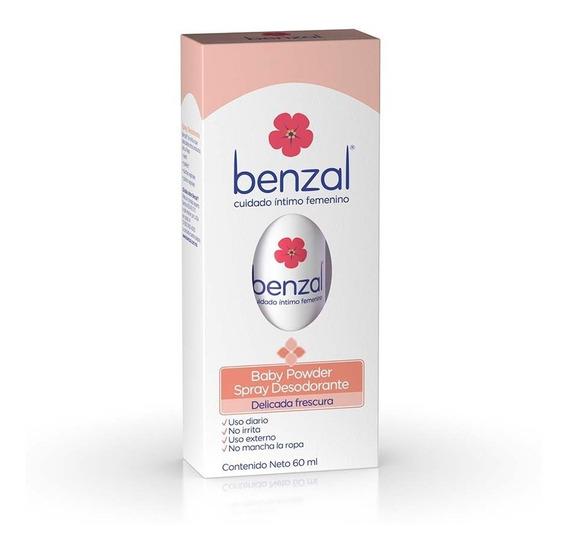 Benzal Spray Desodorante Baby Powder 60ml