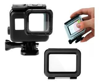 Carcasa Sumergible Hero 5 6 7 Black + Tapa Touch