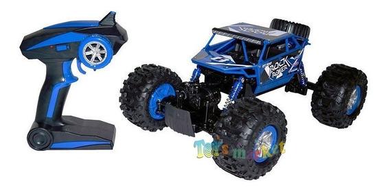 Rock Rover Crawler Auto Todo Terreno Control Bateria Usb