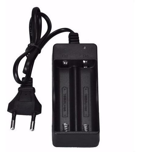 Carregador Duplo Bivolt Para Bateria 18650 3,7v 4.2v Li-ion