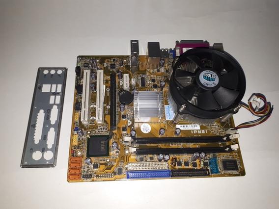Pl. Mãe Pegatron Ipm31 + Core 2 Duo E7200 2.53ghz