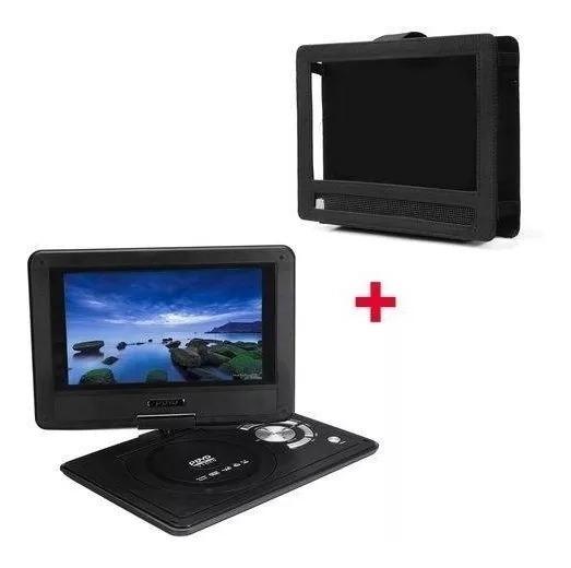 Dvd Portatil Tv Digital 9.8 Sd Usb Mp3 Bolsa Infantil Carro