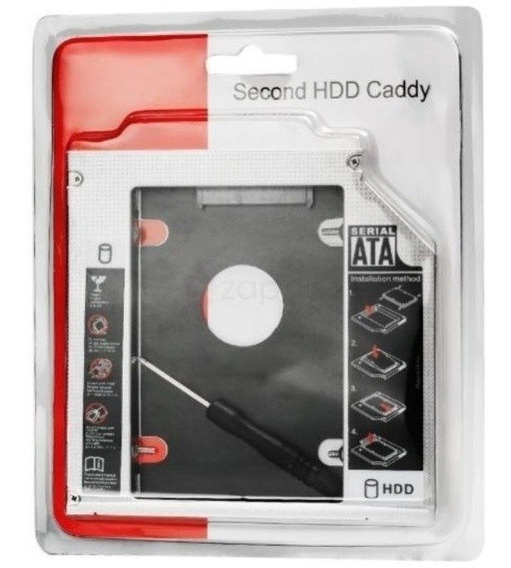 Adaptador Caddy 9,5mm Para Hd Ou Ssd - Lenovo G40-80 G50-70