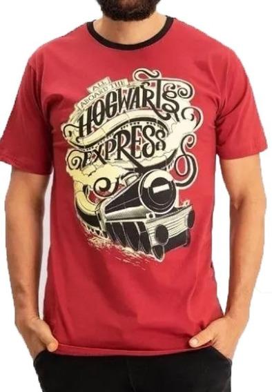 Camiseta Harry Potter Expresso Hogwarts Camisa Harry Potter