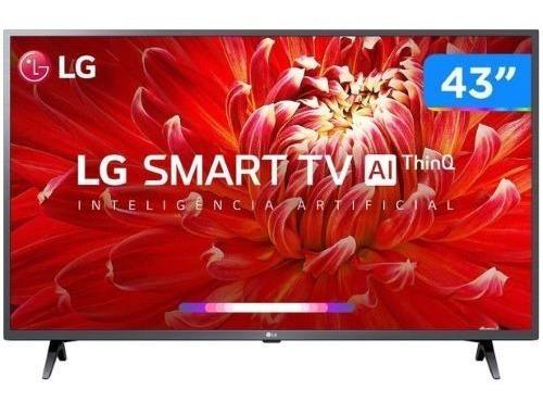 Imagem 1 de 4 de Smart Tv LG 43 Full Hd Led 43lm6370 Hdr Bluetooth Thinq Al