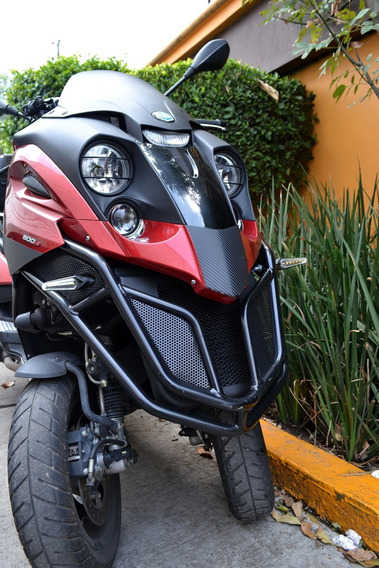 Llamativa Piaggio Mp3 500cc Euipada. Lista Para Viajar