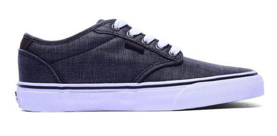 Vans Zapatilla Lifestyle Hombre Atwood Deluxe Gris - Blanco