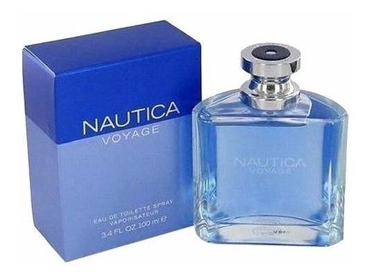 Perfume Nautica Voyage For Men 100ml Eau De Toilette - Novo