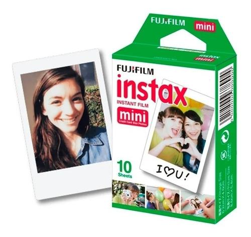 Film Rollo Pack 10 Fotos Para Instax Mini 8 - 9 Original