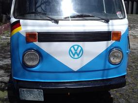 Volkswagen Combi 1981 No Transporte Publico Siemp De Empresa