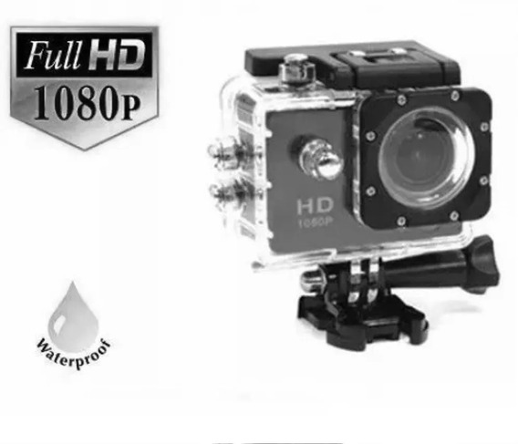 Fr Grátis Go Outdoor Pro Hd 1080p P. Dagua Aventura Camera
