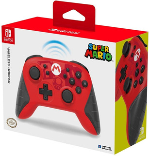 Joystick Hori Pad Mario Nintendo Switch Wireless / Makkax