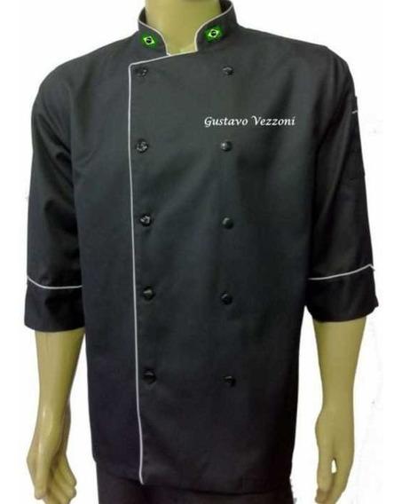 Dolma De Chef Plus Size Tamanho Especial Morganita Uniformes