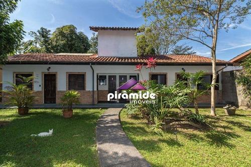 Casa Com 5 Dormitórios À Venda, 381 M² Por R$ 930.000,00 - Itaguá - Ubatuba/sp - Ca3470