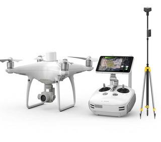 Phantom 4 Rtk Combo + Base Drtk2 + Trípode Drones Para Fotogrametría Hobbytuxtla